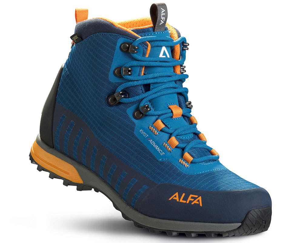 Мъжки туристически обувки Gore-Tex ALFA Kvist Advance GTX Seaport Orange