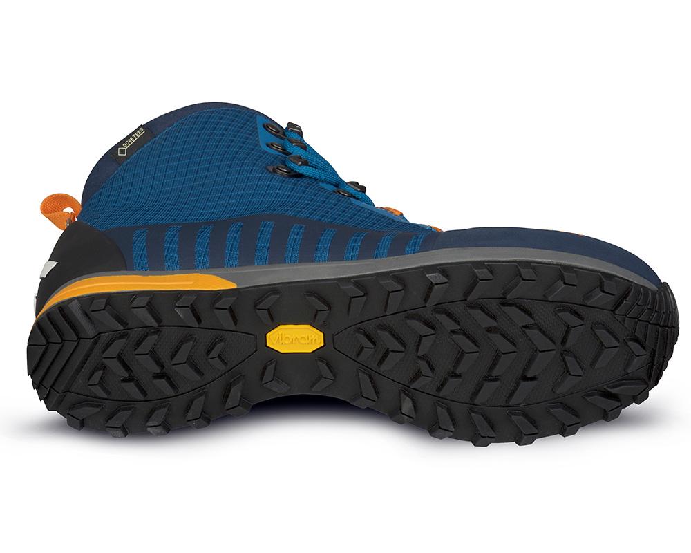 Подметка на мъжки туристически обувки с мембрана Gore-Tex ALFA Kvist Advance GTX Seaport Orange