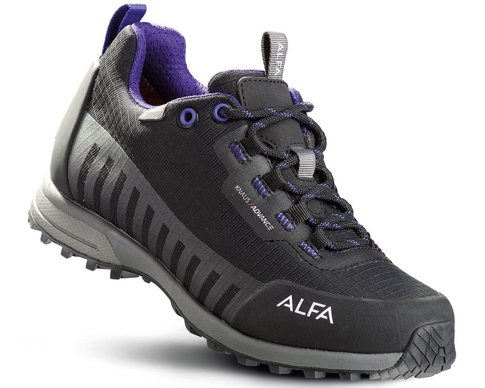 Дамски туристически обувки ALFA Knaus Advance GTX Black Purple