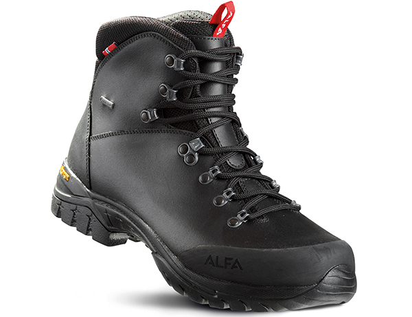 Мъжки туристически обувки ALFA Blikk Perform GTX Black 2020