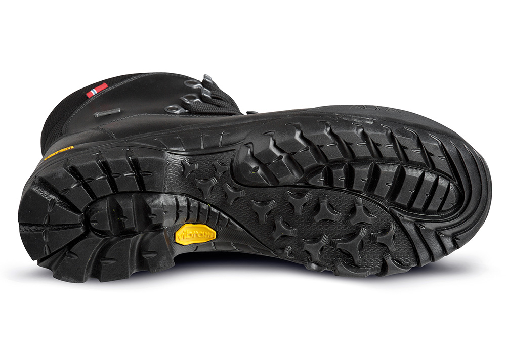 Подметка Vibram на мъжки туристически обувки ALFA Blikk Perform GTX Black 2020