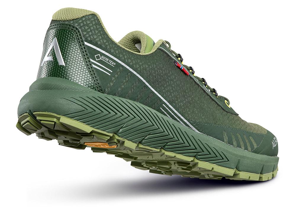 Пета на мъжки туристически обувки ALFA Drift Advance GTX Green 2020