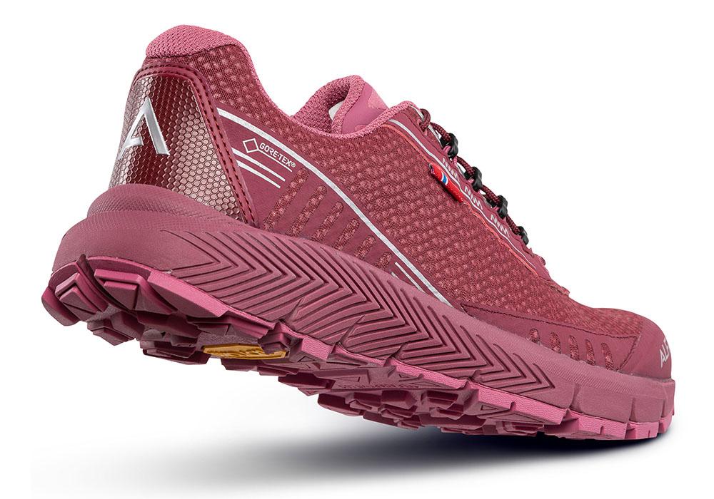 Пета на дамски туристически обувки ALFA Drift Advance GTX W Burgundy 2020