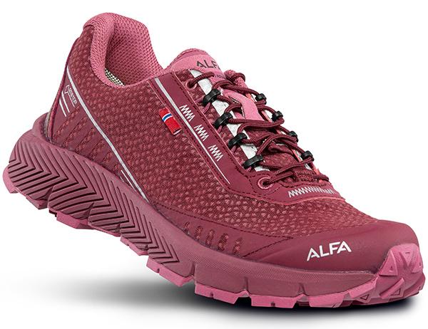 ALFA Drift Advance GTX W Trail Shoes Burgundy 2021