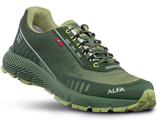 Мъжки туристически обувки ALFA Drift Advance GTX Green 2020