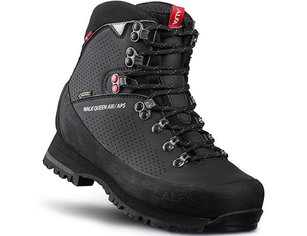 Дамски туристически обувки ALFA Walk Queen Air APS GTX W Black 2022