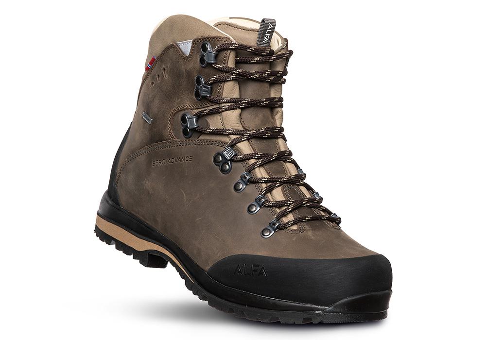 Мъжки туристически обувки ALFA Berg Advance GTX М Classic Brown 2021