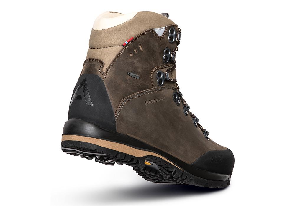 Пета на мъжки туристически обувки ALFA Berg Advance GTX М Classic Brown 2021