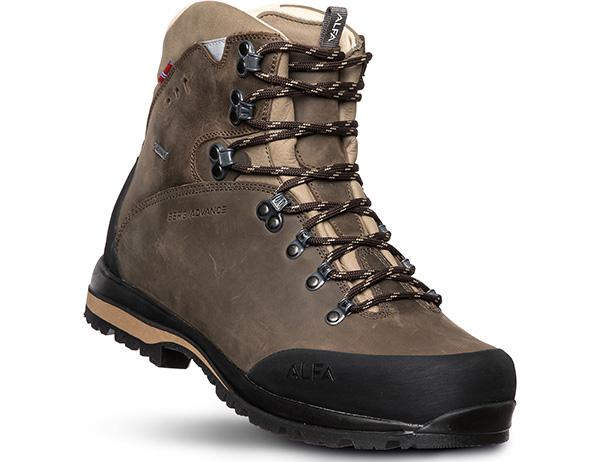 ALFA Berg Advance GTX М Trekking Boots Classic Brown 2021