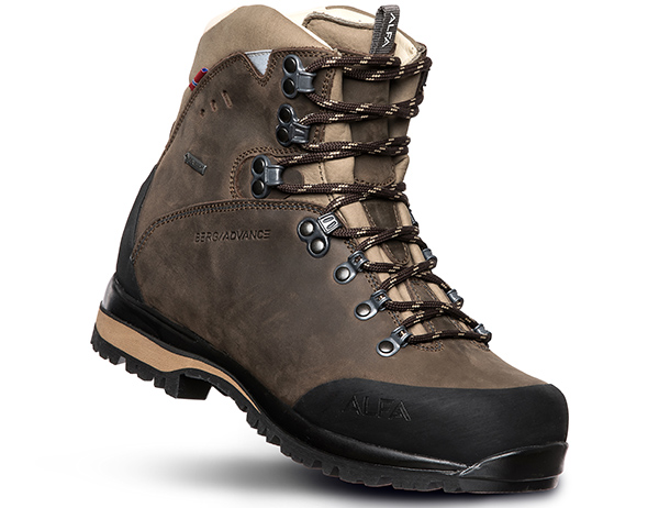 Дамски туристически обувки ALFA Berg Advance GTX W Classic Brown 2022