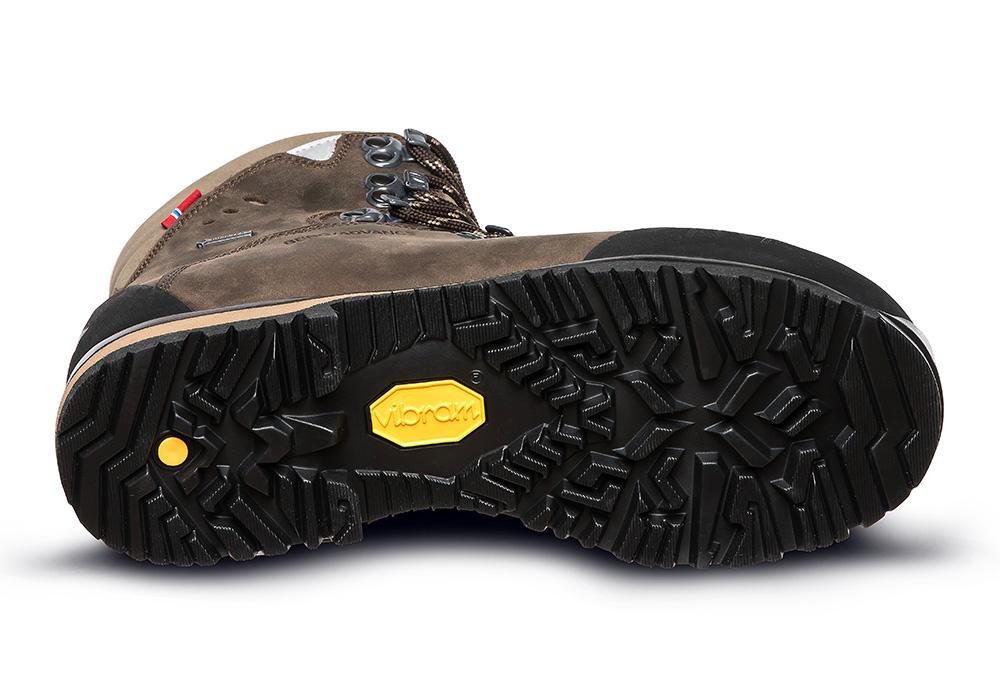 Подметка на дамски туристически обувки ALFA Berg Advance GTX W Classic Brown 2021
