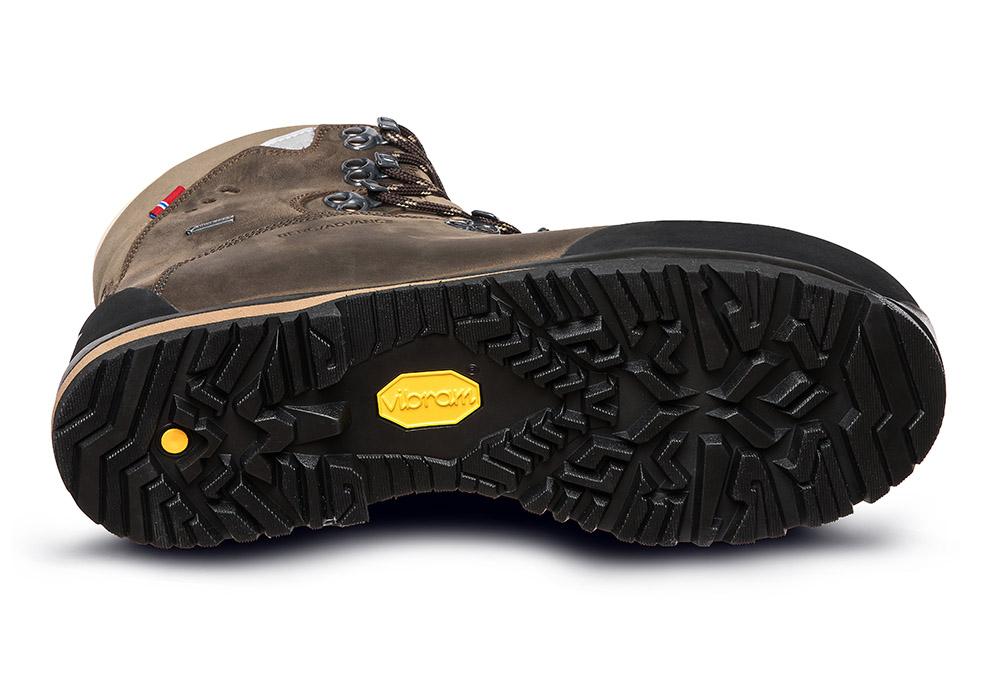 Подметка на мъжки туристически обувки ALFA Berg Advance GTX М Classic Brown 2021