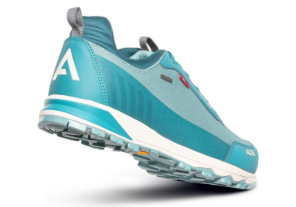 Дамски туристически обувки ALFA Brink Advance GTX W Ocean Green 2021