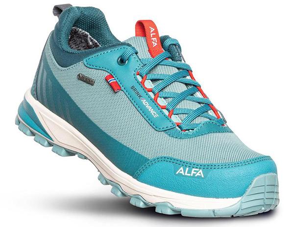 ALFA Brink Advance GTX W Approach Shoes Ocean Green 2021