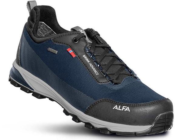 ALFA Brink Advance GTX M Approach Shoes Dark Blue 2021