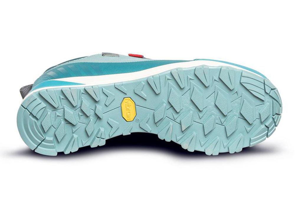 Подметка на дамски туристически обувки ALFA Brink Advance GTX W Ocean Green 2021