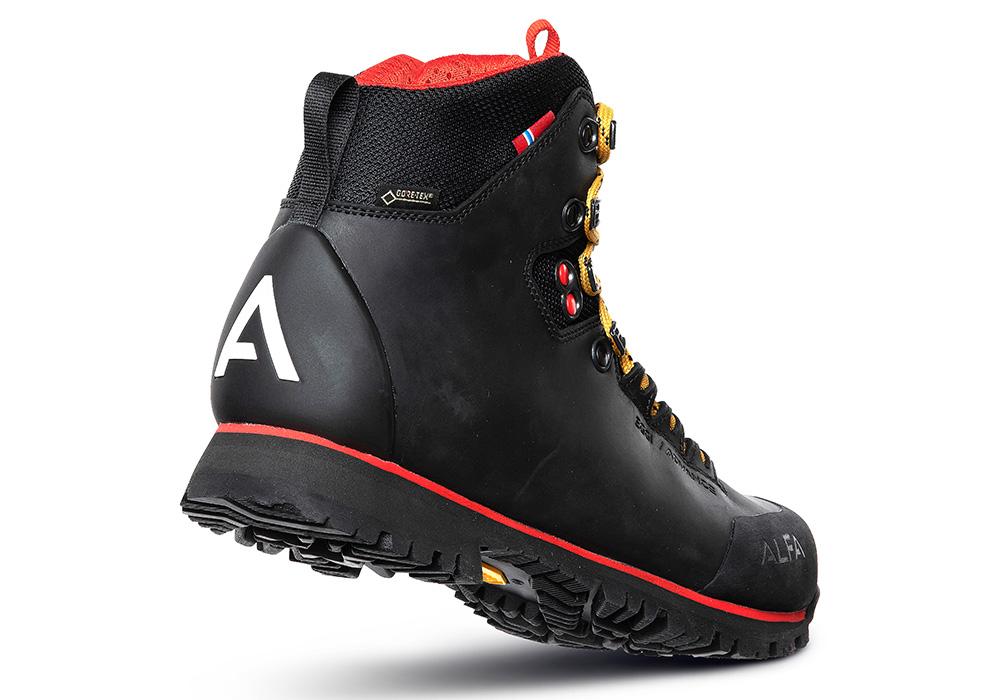 Пета на дамски туристически обувки ALFA Eggi ADVANCE GTX W Black 2021