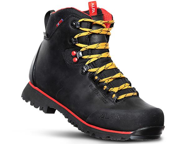 Дамски туристически обувки ALFA Eggi ADVANCE GTX W Black 2021