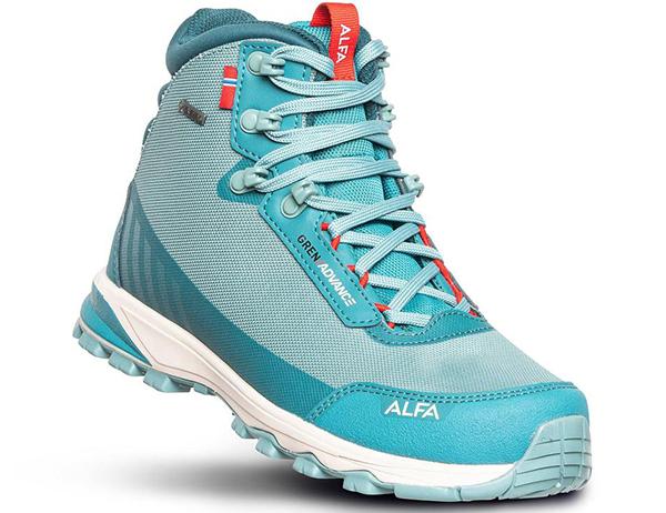 ALFA Gren Advance GTX W Hiking Boots Ocean Green 2021