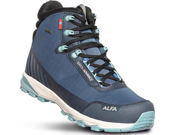 ALFA Gren Advance GTX M Hiking Boots Blue 2021
