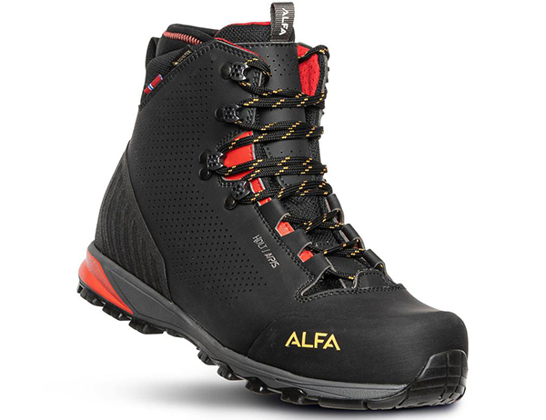 ALFA Holt APS GTX M Hiking Boots Black 2022