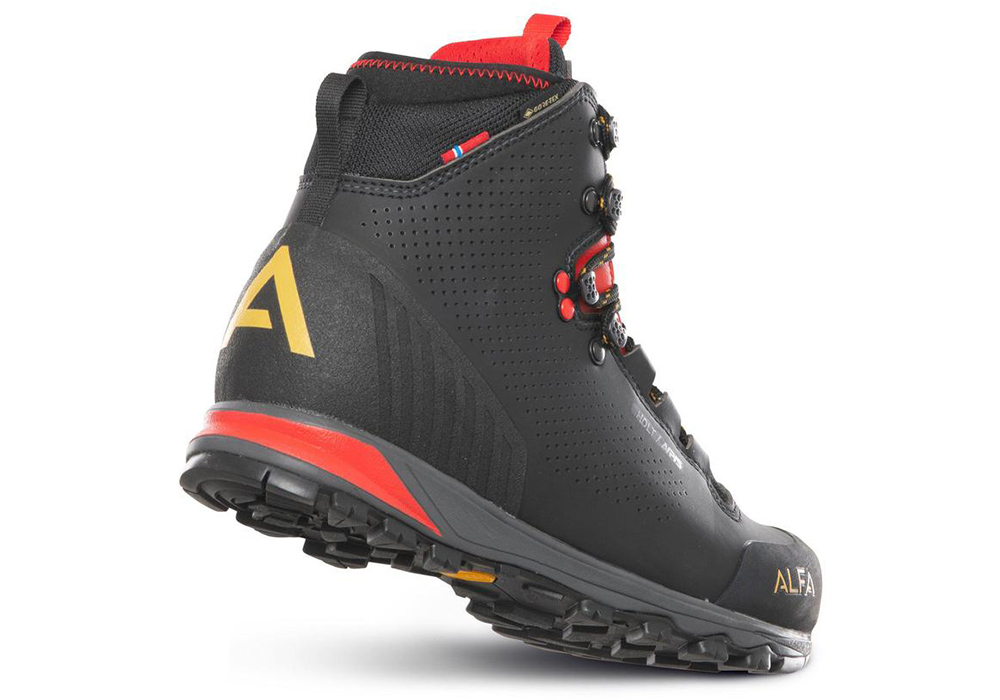 Дамски туристически обувки ALFA Holt APS GTX W Black 2021