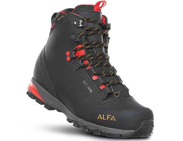 ALFA Holt APS GTX W Hiking Boots Black 2021