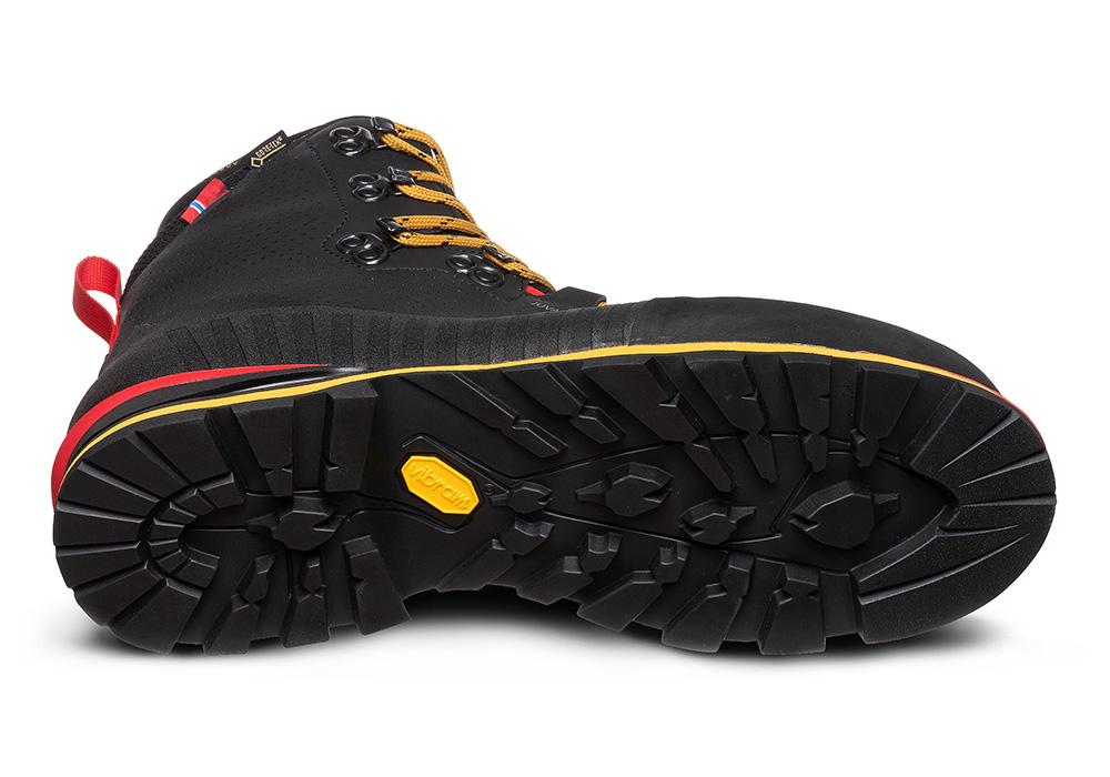 Подметка на мъжки туристически обувки ALFA Juvass APS GTX M Black 2021