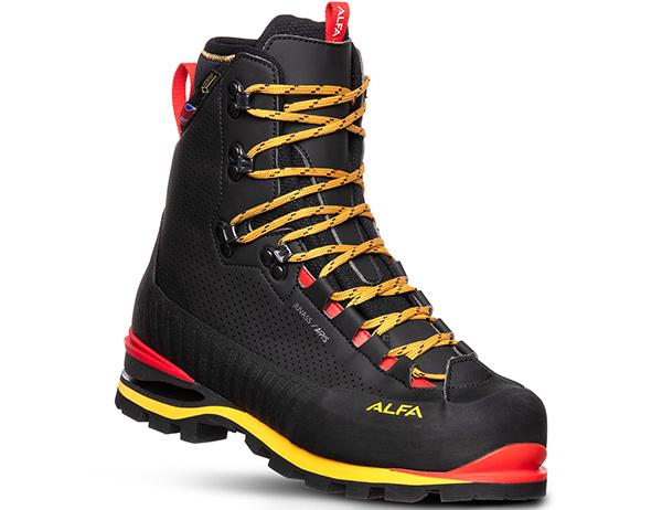 Мъжки туристически обувки ALFA Juvass APS GTX M Black 2021