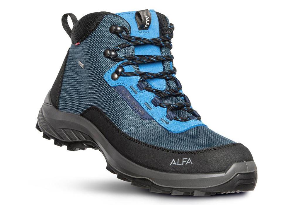 Мъжки туристически обувки Alfa Kjerr Perform GTX M Blue 2021