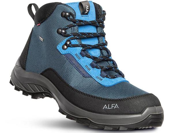 Alfa Kjerr Perform GTX M Hiking Boots Blue 2021