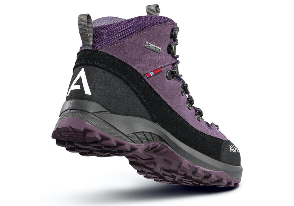Пета на детски туристически обувки ALFA Kratt Perform GTX Jr Purple 2021