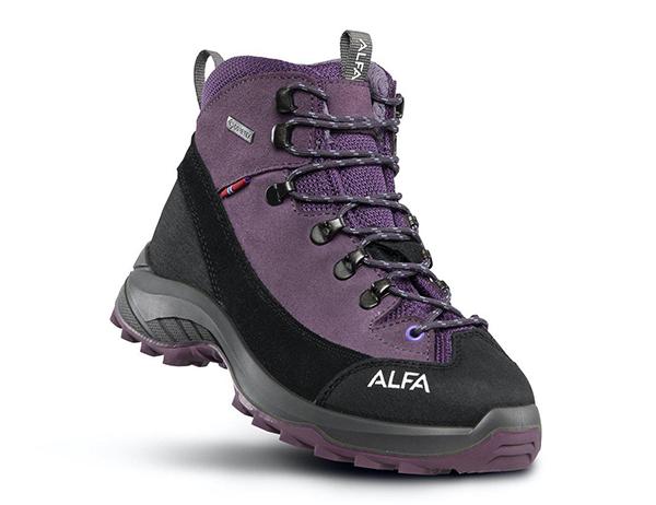 ALFA Kratt Perform GTX Jr Hiking Boots Purple 2021