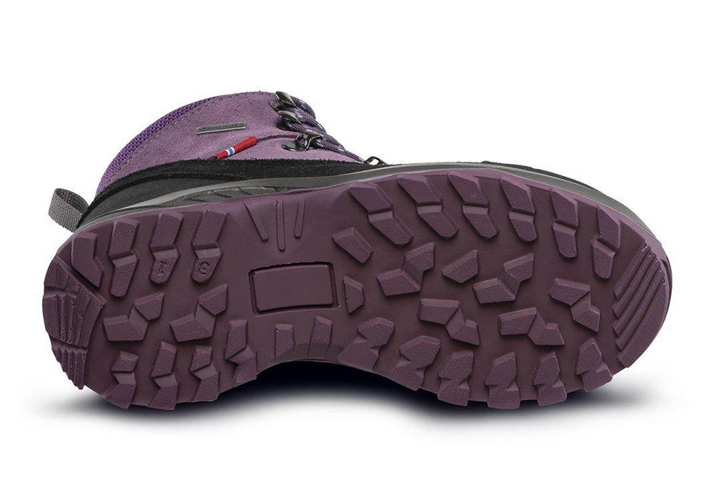 Подметка на детски туристически обувки ALFA Kratt Perform GTX Jr Purple 2021