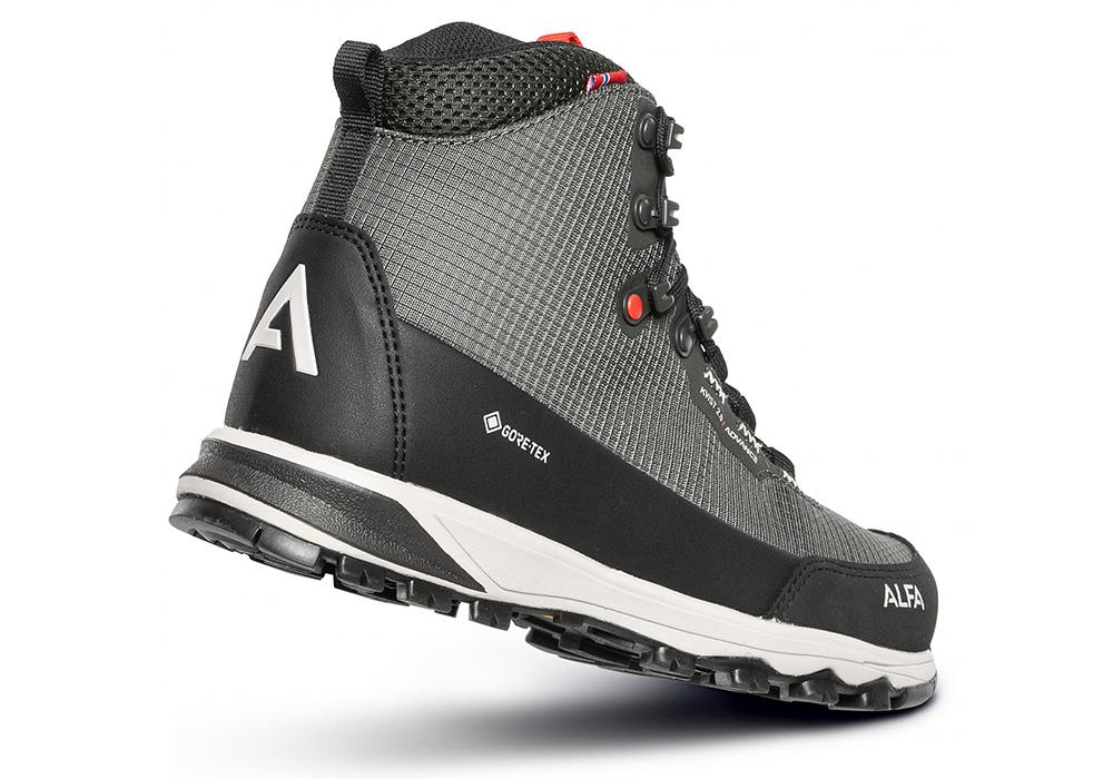 Пета на мъжки туристически обувки ALFA Kvist Advance 2.0 GTX M Grey 2021