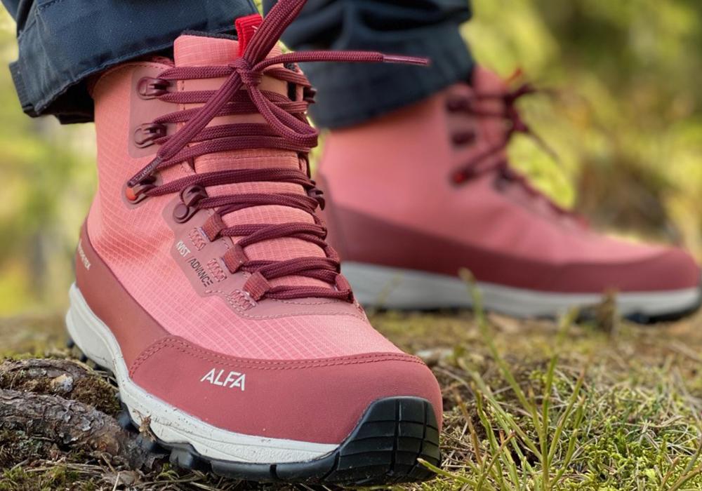 Хайкинг с дамски туристически обувки ALFA Kvist Advance 2.0 GTX W Terracotta 2021