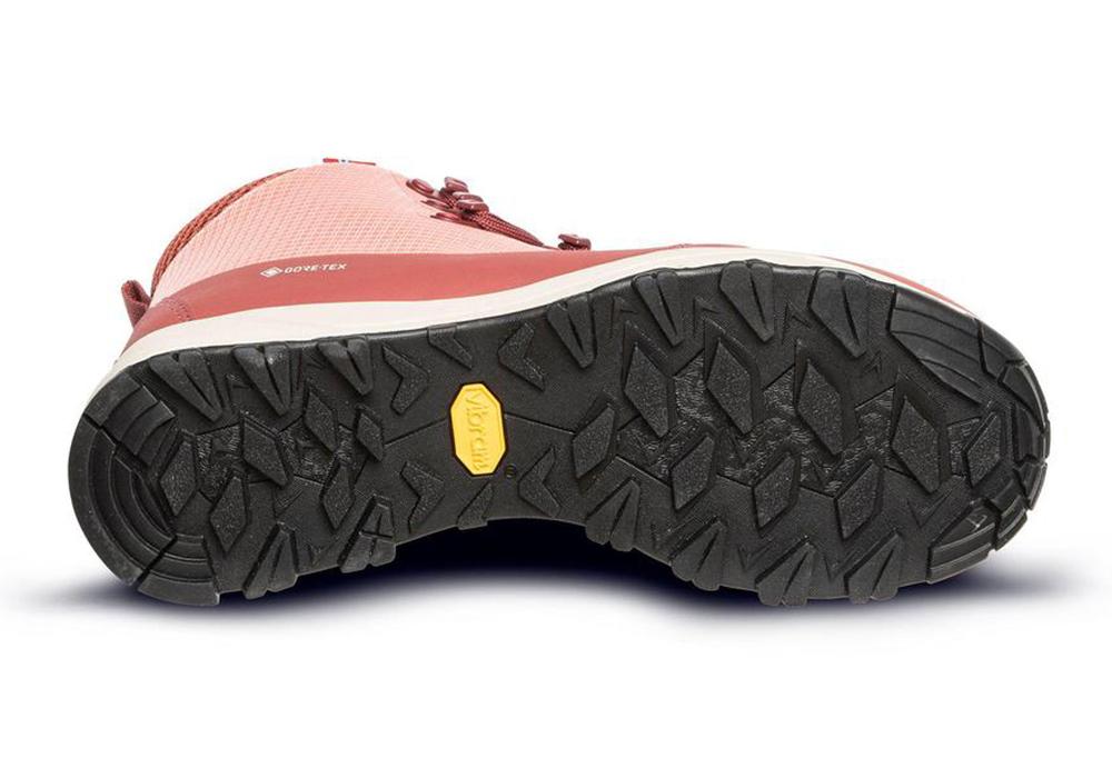 Подметка на дамски туристически обувки ALFA Kvist Advance 2.0 GTX W Terracotta 2021