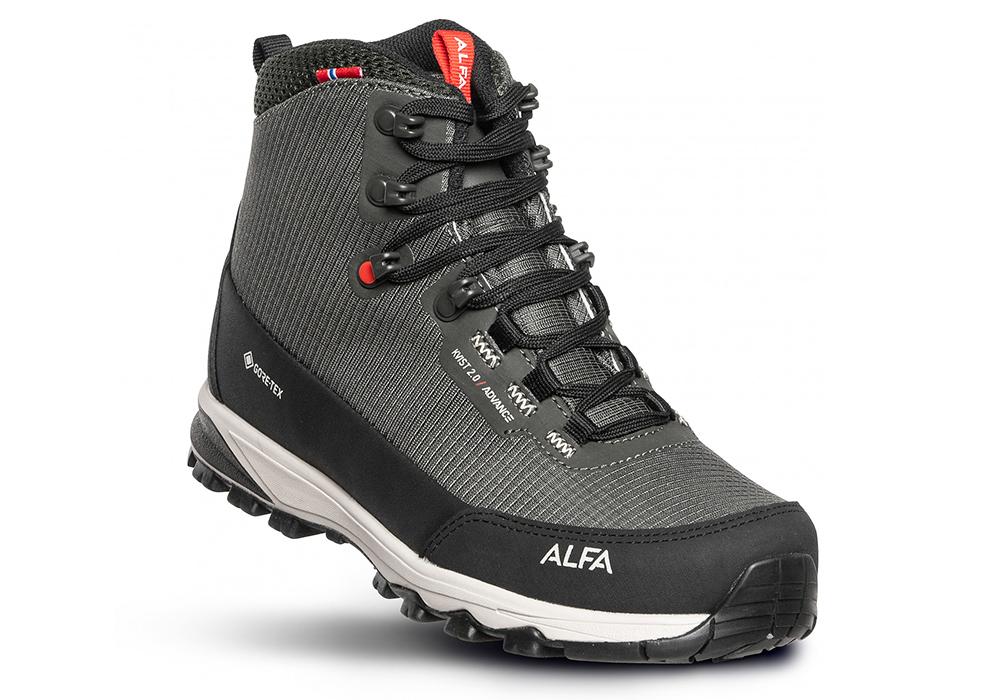 Мъжки туристически обувки ALFA Kvist Advance 2.0 GTX M Grey 2021