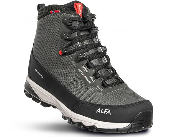 ALFA Kvist Advance 2.0 GTX M Hiking Boots Grey 2021