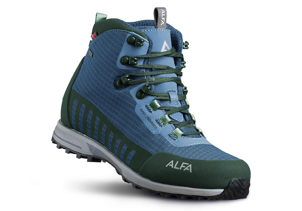 Мъжки туристически обувки ALFA Kvist Advance GTX Blue Green 2020