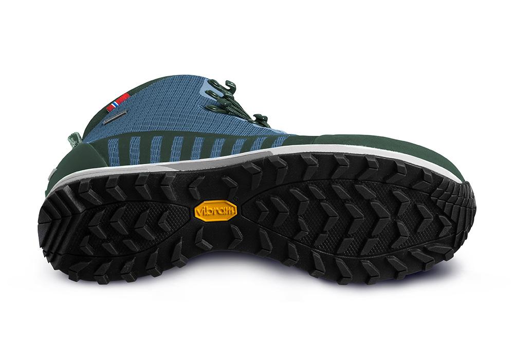 Подметка на мъжки туристически обувки ALFA Kvist Advance GTX Blue Green 2020