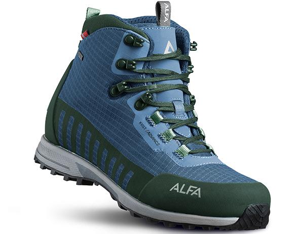 Мъжки туристически обувки ALFA Kvist Advance GTX Blue Green