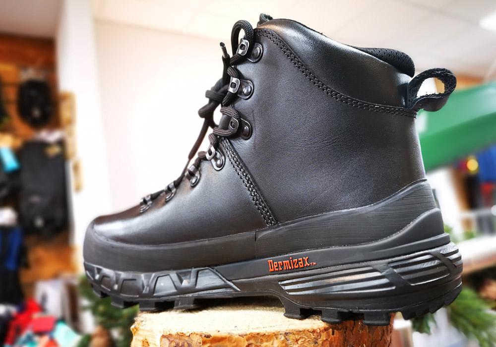 Профил на туристически обувки Bergans Trollhetta Leather Dermizax Black 2020