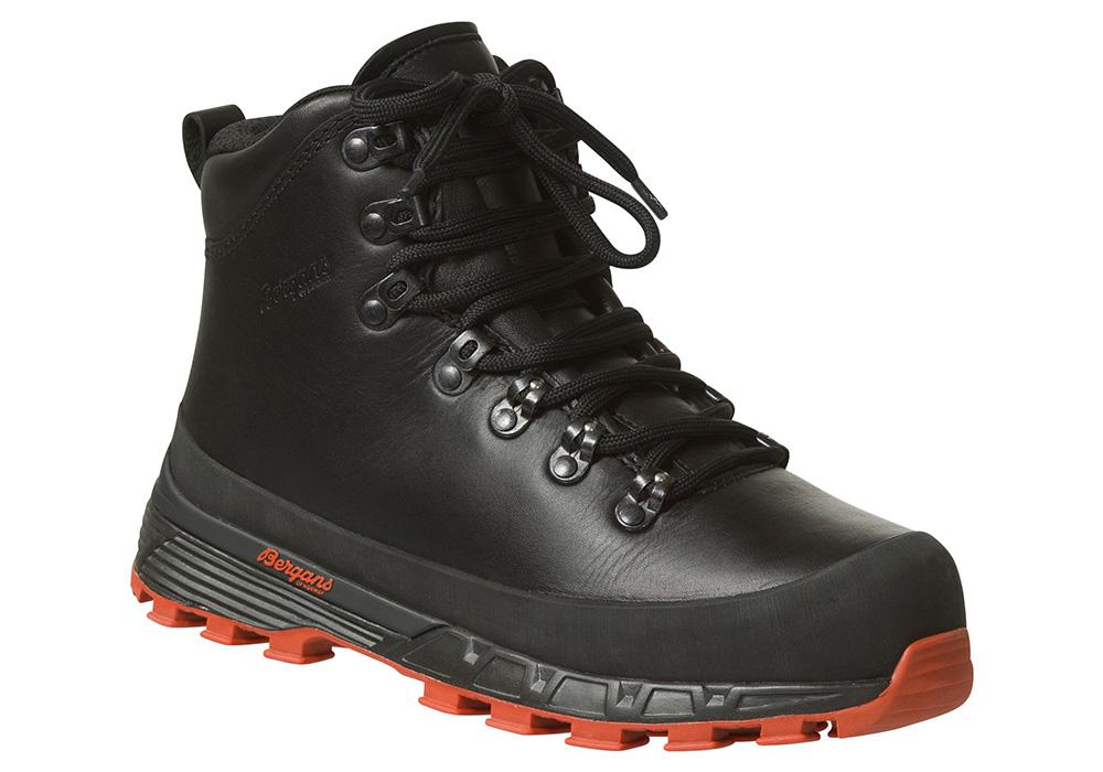 Дамски туристически обувки Bergans Trollhetta Lady Leather Dermizax Black 2020