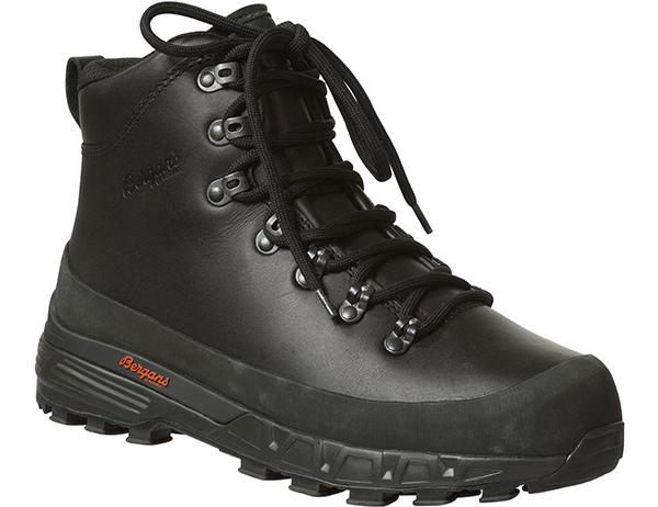 Мъжки туристически обувки Bergans Trollhetta Leather Dermizax Black 2020