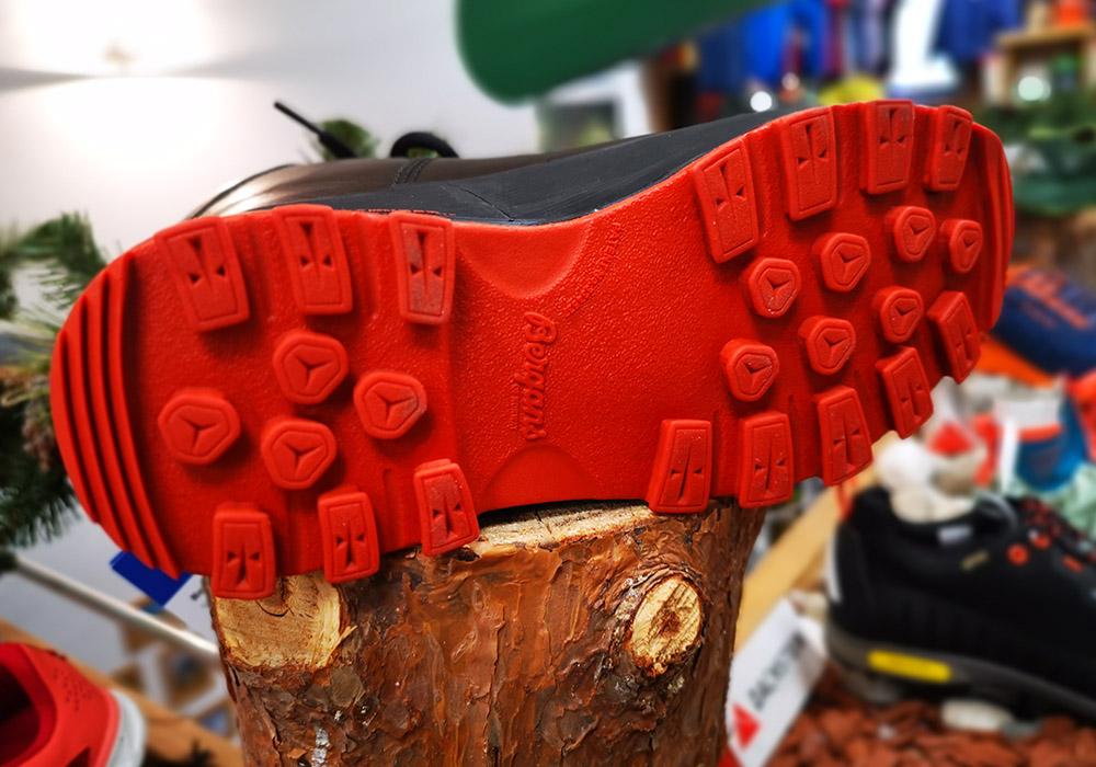 Подметка на дамски туристически обувки Bergans Trollhetta Lady Leather Dermizax Black 2020