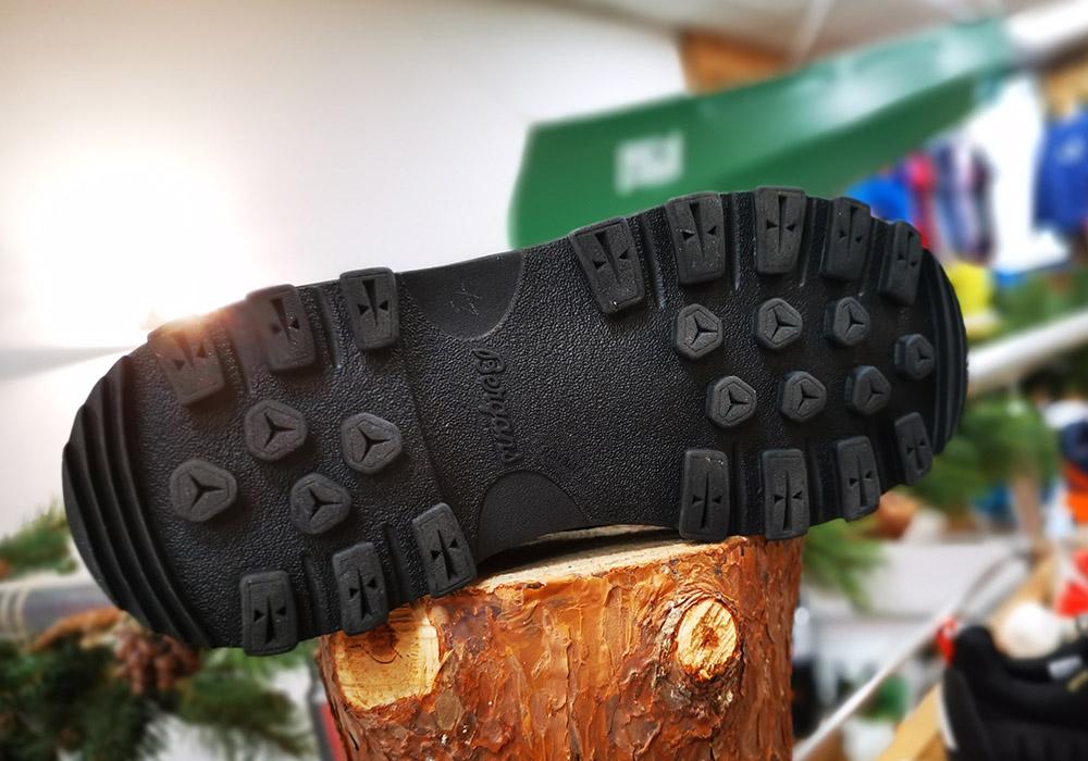 Подметка на туристически обувки Bergans Trollhetta Leather Dermizax Black 2020