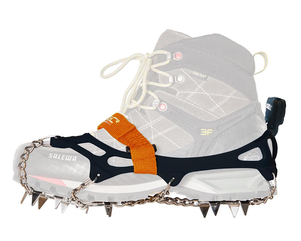 Котки Nortec Alp Micro Crampons голяма снимка с туристическа обувка