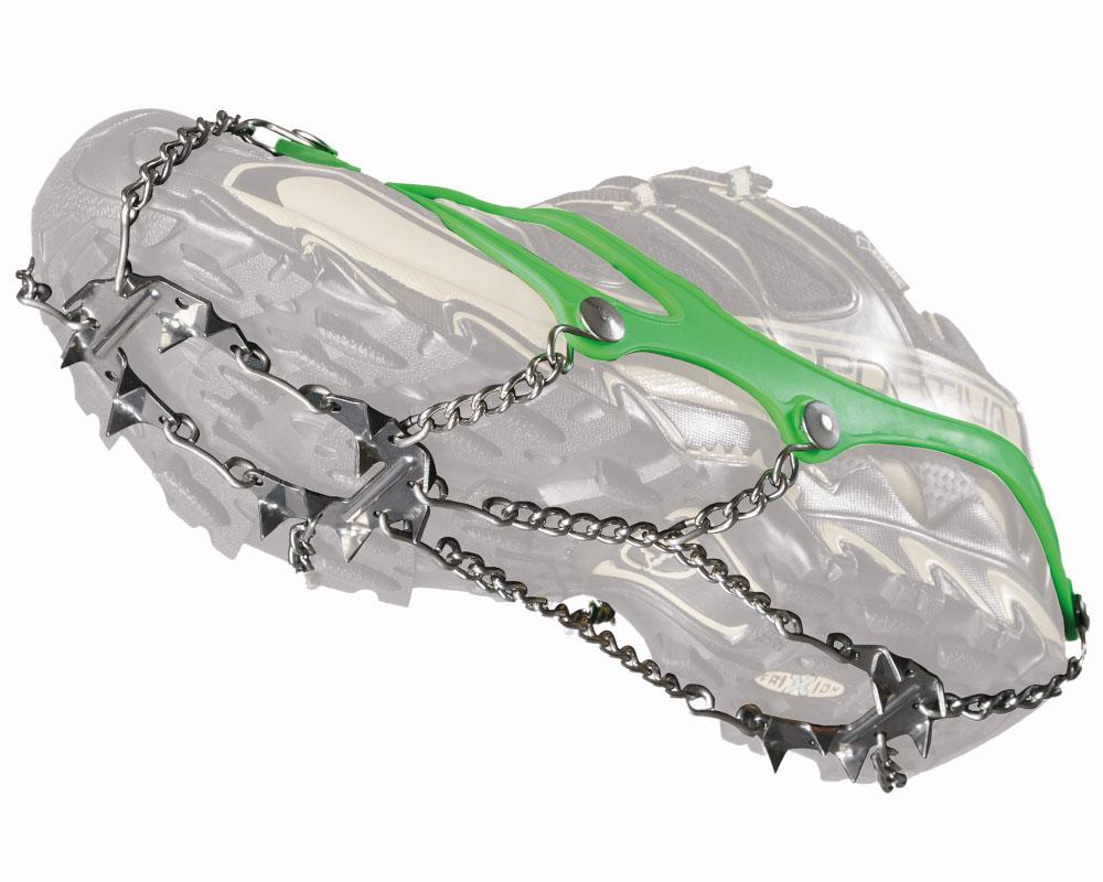 Котки Nortec Nordic Micro Crampons на ниска туристическа обувка