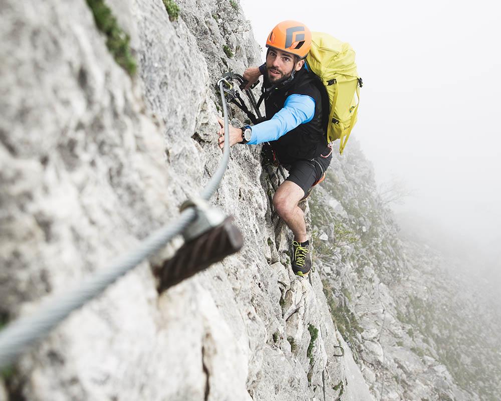 Мъжки туристически обувки Dachstein Super Ferrata MC DDS катерене по скали